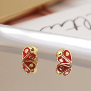 Kate Spade Red Love Little Ladybug Earrings